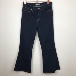 Madewell Flea Market Flare High Rise Jeans Size 30